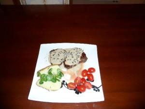 Stek na taliři